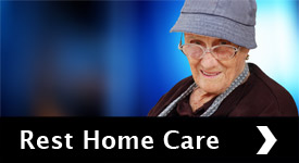 Rest home care for semi-independent elderly people